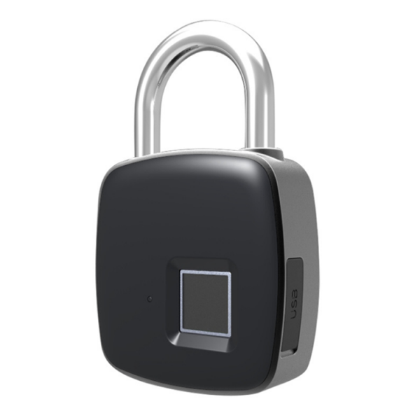 Smart Padlock, Unlock with Fingerprint and smartphone APP